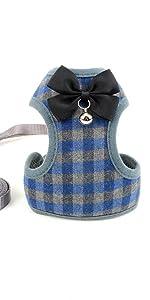 bow tie dog harness
