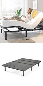 FBMADB Adjustable Bed Frame Queen