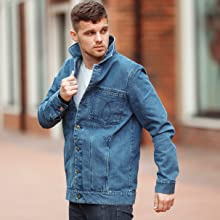 DASTI MENS JEAN JACKET