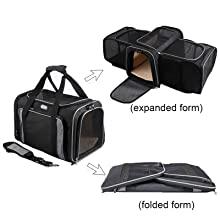 foldable pet backpack