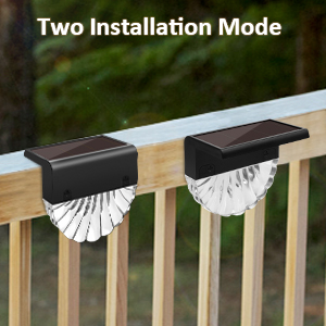 solar lights outdoor decorative fence