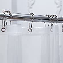 thick shower curtains