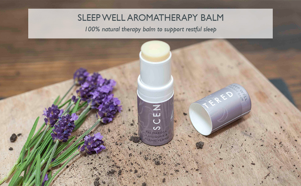 Scentered Aromatherapy Balms Essential Oils Stress Anxiety Relief Sleep Relaxation Aid