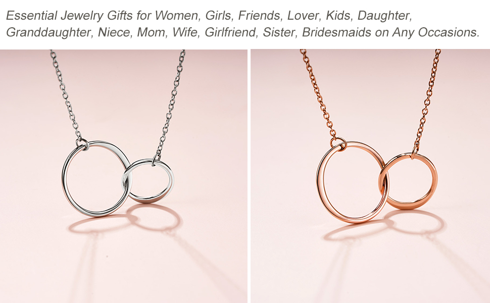 Rose Gold Necklaces for Women