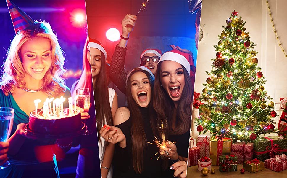 decorate Christmas or party