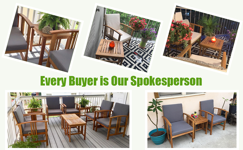 outdoor conversation set for 2 person