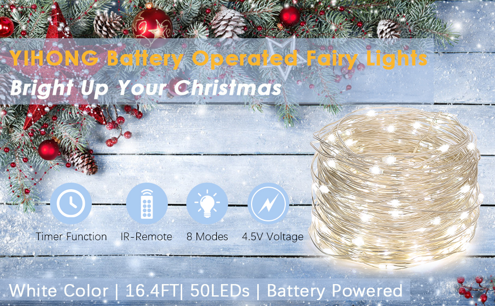 fairy lights battery operated