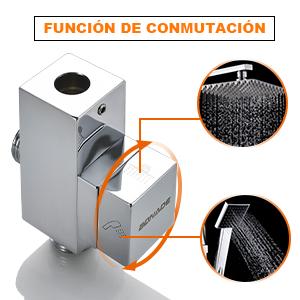 BONADE Columna de Ducha Acero Inoxidable Sistema de Ducha de Baño ...