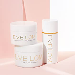 Eve Lom skincare cleanser collection - the original balm cleanser and gel balm cleanser