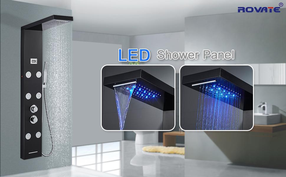 LED Shower Panel