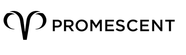 Promescent sexual wellness logo. Promescent offers lubricants, arousal gel, delay spray and more