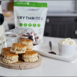 scones erythritol