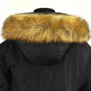 Faux Fur Hood