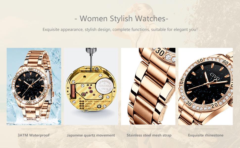 stylish lady watch