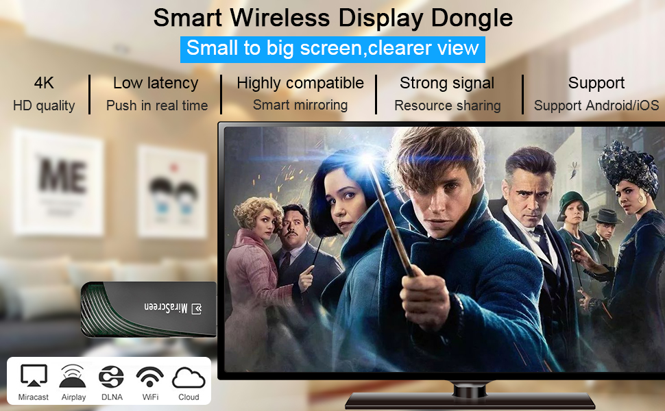 wireless display dongle