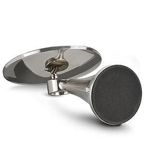 Evolvico Mirror - Anti-Slip EVA Base / Solid Stand - bottom weighted