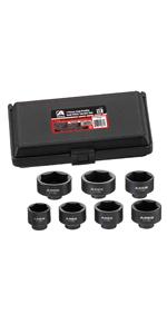 7-Piece Low Profile Fuel Filter Socket Set