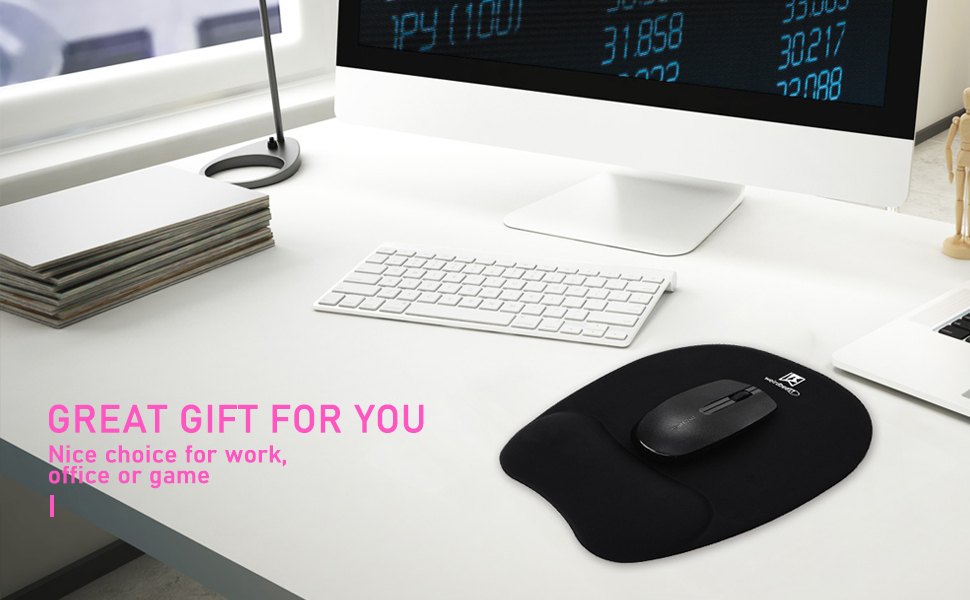Ergonomic Mouse Pad with Wrist Support