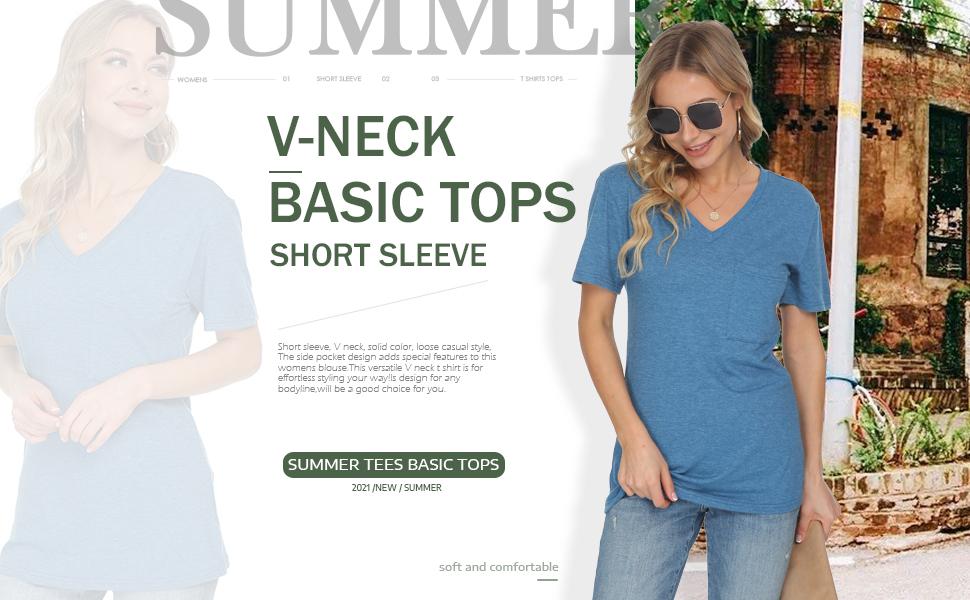 short sleeve tunic women