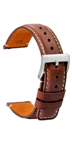 full grain leather watch bands