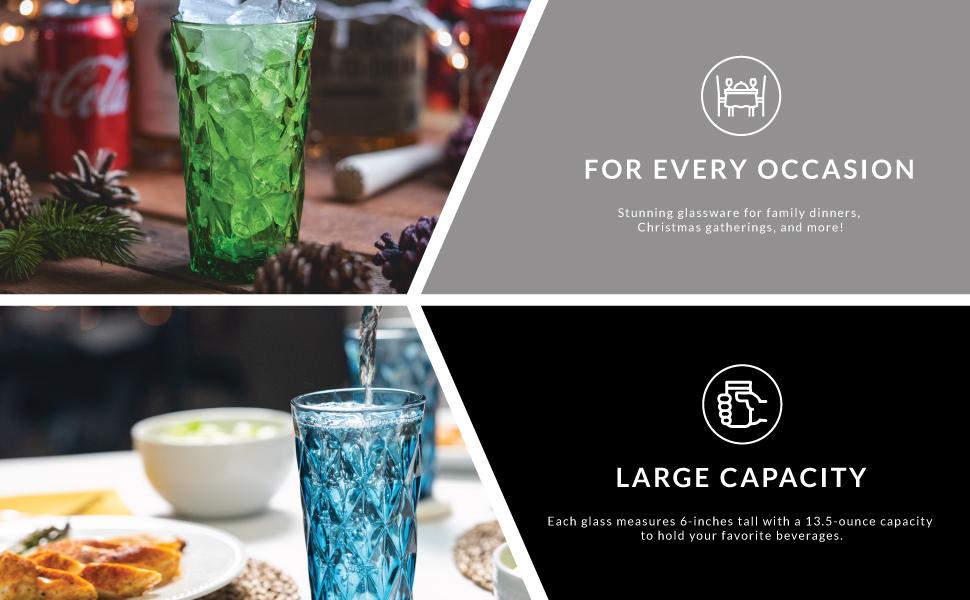Vasos de cristal de Chef Star