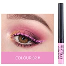 pink eyerliner
