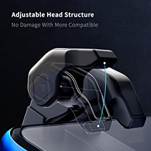adjustable head structure