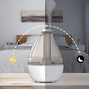mist humidifier with timer