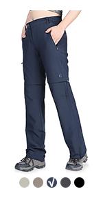 women convertible hiking pants