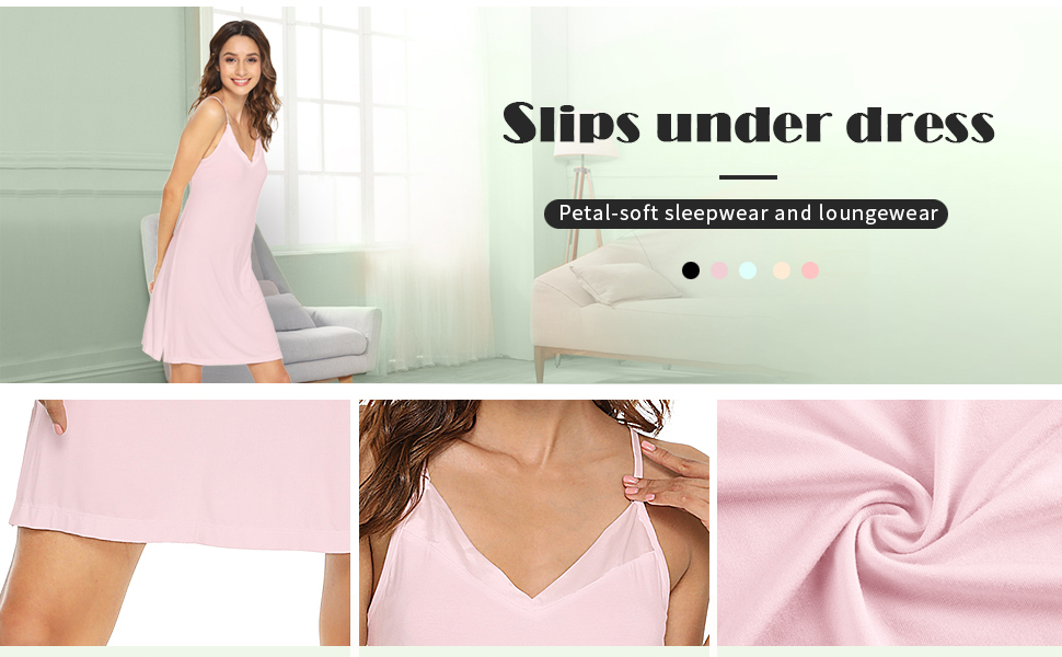 womens slips and camisoles