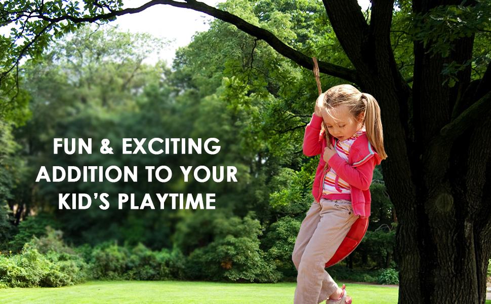 Tree swing for kids