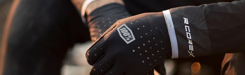 100% motocross and Mountain Bike gloves
