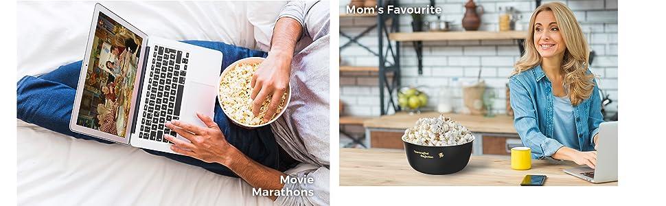 movie, mom's, popcorn