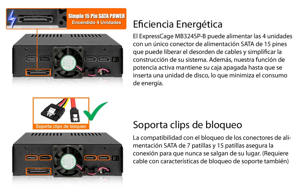 Icy Dock ExpressTray MB324TP-B - Serie de bandejas por Discos ...