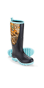 TideWe Rubber Hunting Boot for Women