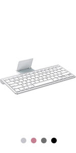 ipad keyboard with sliding stand