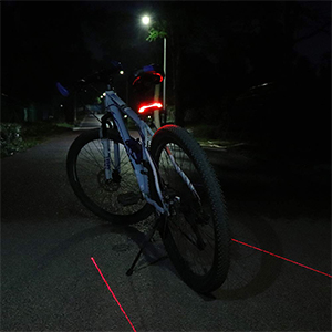 meilan x5 bike tail light