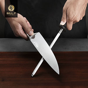 knife set with scissors