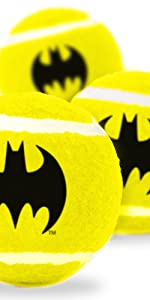 Batman Tennis Balls for Dogs