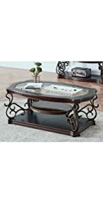Traditional Console Table Accent Side Table Coffee Table Cocktail Table end table night stand