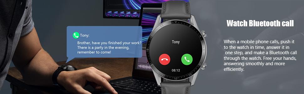 bluetooth call smartwatch