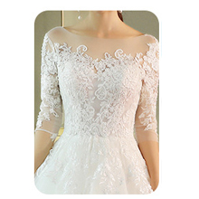 women in wedding dress wearing invisible bra