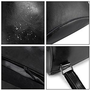 borse sacco donna pelle zaini da donna zaino di cuoio donna realer reale leather daypack pelle nero