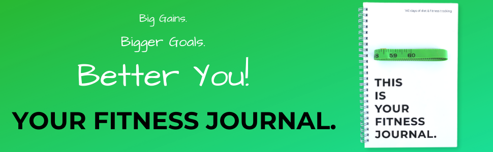 your fitness journal workout notebook body measurement journal fitness journal fitness notebook
