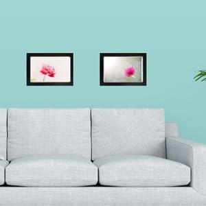 8x12 picture frame for living room family portrait poster wall tasse verre wood hang black