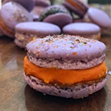 macarons, food color, coloring, synthetic free baking, healthy cooking, luster dust