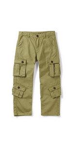 boys 8 pockets cargo pants