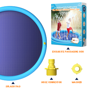 water splash pad for big kids Package Includes: