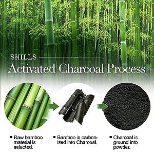 charcoal  process  bamboo