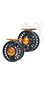 tail fly fishing reel